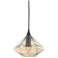 ELK 10450/1 Geometrics 1 Light 9 inch Oil Rubbed Bronze Pendant Ceiling Light