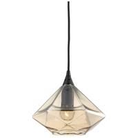 ELK Lighting Geometrics 1 Light Pendant in Oil Rubbed Bronze 10450/1