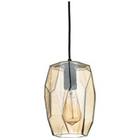 ELK 10451/1 Geometrics 1 Light 6 inch Oil Rubbed Bronze Pendant Ceiling Light