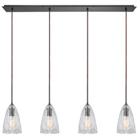 Signature 4 Light 46 inch Oil Rubbed Bronze Pendant Ceiling Light