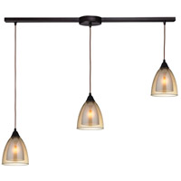Layers 3 Light 36 inch Oil Rubbed Bronze Pendant Ceiling Light