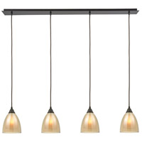 ELK 10474/4LP Layers 4 Light 47 inch Oil Rubbed Bronze Linear Pendant Ceiling Light