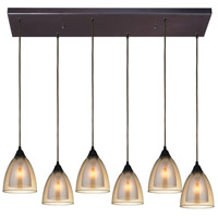 Layers 6 Light 30 inch Oil Rubbed Bronze Pendant Ceiling Light