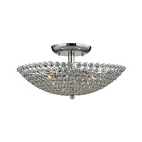 ELK Lighting Hammond 3 Light Semi Flush in Polished Chrome 10481/3