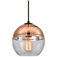 Revelo 1 Light 8 inch Oil Rubbed Bronze Pendant Ceiling Light