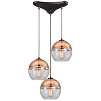 Revelo 3 Light 17 inch Oil Rubbed Bronze Pendant Ceiling Light