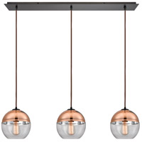 Revelo 3 Light 36 inch Oil Rubbed Bronze Pendant Ceiling Light