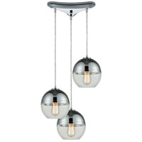 Revelo 3 Light 10 inch Polished Chrome Pendant Ceiling Light