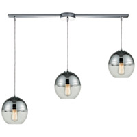 Revelo 3 Light 36 inch Polished Chrome Pendant Ceiling Light