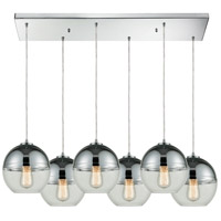 Revelo 6 Light 30 inch Polished Chrome Pendant Ceiling Light