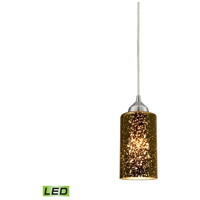 Illusions LED 4 inch Polished Chrome Pendant Ceiling Light in 1