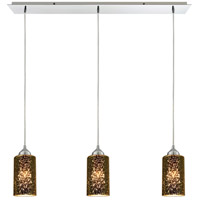 ELK 10505/3LP-LED Illusions LED 36 inch Polished Chrome Pendant Ceiling Light