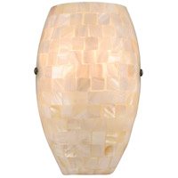 ELK 10540/1 Capri 1 Light 6 inch Satin Nickel Wall Sconce Wall Light