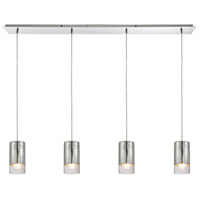 ELK 10570/4LP Tallula 4 Light 46 inch Polished Chrome Linear Pendant Ceiling Light
