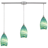 Collanino 3 Light 36 inch Satin Nickel Pendant Ceiling Light
