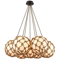 Elk Lighting Coastal Inlet 7 Light Chandelier in Oil Rubbed Bronze 10710/7SR