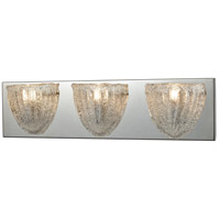 ELK 10726/3 Verannis 3 Light 21 inch Polished Chrome Vanity Light Wall Light