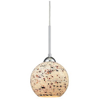 Spatter 1 Light 7 inch Polished Chrome Pendant Ceiling Light