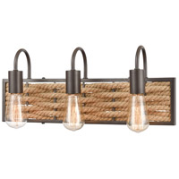 Natural Rope Weaverton Bathroom Vanity Lights
