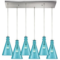 Parson 6 Light 30 inch Satin Nickel Pendant Ceiling Light
