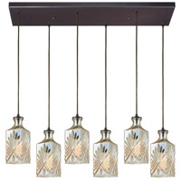 Giovanna 6 Light 30 inch Oil Rubbed Bronze Pendant Ceiling Light