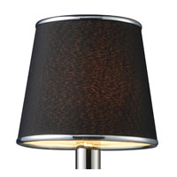 Elk Lighting Mansfield 0 Light Accessory In Black Fabric 1083