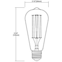 ELK 1092 Signature Medium Medium 60 watt Filament Bulb alternative photo thumbnail
