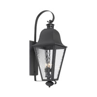 ELK Lighting Brookridge 3 Light Outdoor Sconce in Charcoal 1101-C