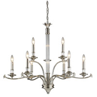ELK Lighting Savanti 9 Light Chandelier in Polished Nickel 11019/6+3