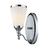 ELK Lighting Brussels 1 Light Sconce in Polished Chrome 11020/1