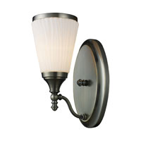 ELK 11030/1 Brussels 1 Light 6 inch Antique Brass Sconce Wall Light
