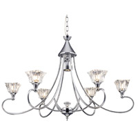 ELK Lighting Modena 6 Light Chandelier in Polished Chrome 11066/6+1