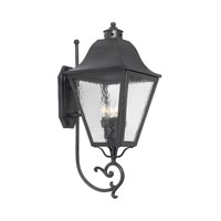 ELK Lighting High Falls 4 Light Outdoor Sconce in Charcoal 1108-C