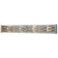 Riverflow 4 Light 37 inch Polished Chrome Vanity Wall Light