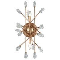Serendipity 2 Light 12 inch Matte Gold Wall Sconce Wall Light