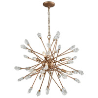 ELK 11113/6 Serendipity 6 Light 28 inch Matte Gold Chandelier Ceiling Light