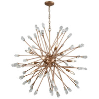 Serendipity 9 Light 38 inch Matte Gold Chandelier Ceiling Light