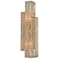 Lexicon 2 Light 6 inch Matte Gold Wall Sconce Wall Light