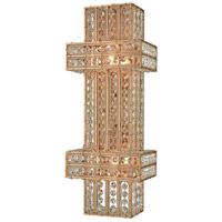 Lexicon 2 Light 8 inch Matte Gold Wall Sconce Wall Light