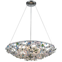 Crystallus 8 Light 25 inch Polished Chrome Chandelier Ceiling Light