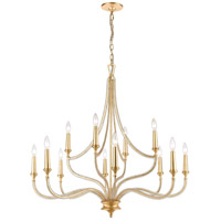 ELK Glass Steel Chandeliers