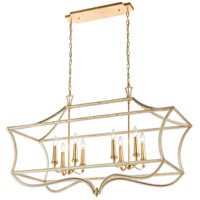 ELK 11179/8 La Rochelle 8 Light 45 inch Parisian Gold Leaf Island Light Ceiling Light