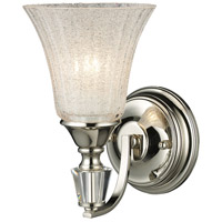 ELK Lighting Lincoln Square 1 Light Sconce in Polished Nickel 11200/1