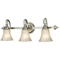 ELK 11201/3 Lincoln Square 3 Light 28 inch Polished Nickel Vanity Wall Light