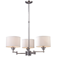 ELK Lighting Westbrook 3 Light Swingarm in Polished Chrome 11212/3