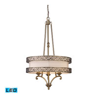 ELK 11218/3-LED Abington LED 24 inch Antique Brass Chandelier Ceiling Light