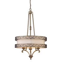 ELK Lighting Abington 3 Light Chandelier in Antique Brass 11218/3