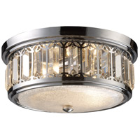 ELK 11226/2 Signature 2 Light 13 inch Polished Chrome Flush Mount Ceiling Light photo thumbnail