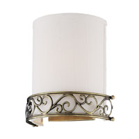 ELK Lighting Abington 1 Light Wall Sconce in Antique Brass 11237/1