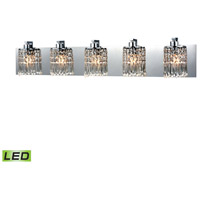 Elk Lighting Optix LED Vanity in Polished Chrome 11239/5-LED